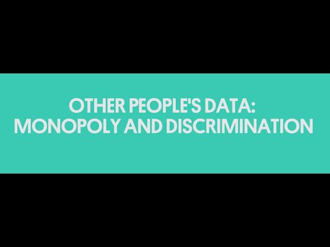 Other People's Data:  Monopoly and Discrimination