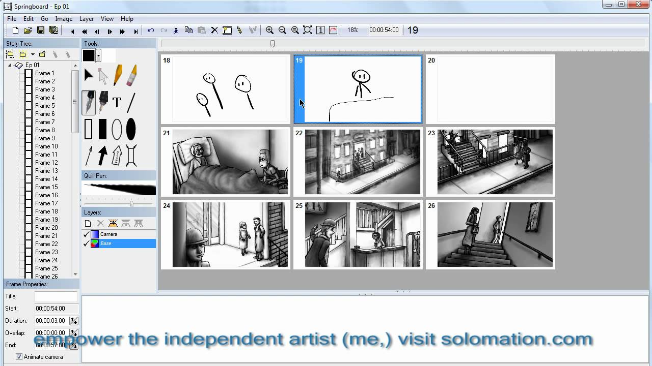 How to storyboard good software to use youtube for Storyboard template app