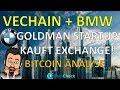 VeChain Partnerschaft mit BMW! Goldman Sachs Startup kauft Poloniex! Litecoin und Neo News  Bitcoin