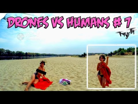 Top 5 Drones vs Humans # 7
