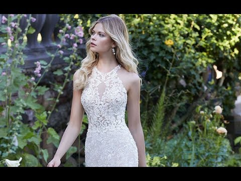 0b1b18b6fd3 Mori Lee 2030 Pia Wedding Dress - YouTube