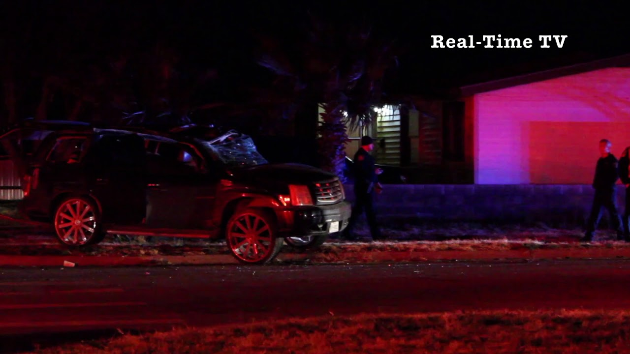 Two Intoxicated Teens Lead Midland TX, Police on Chase   Ends in car  Accident!