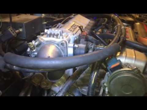 Dsm STARTER REMOVAL 4G63T - YouTube