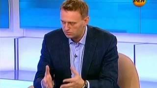 Впервые на телевидении! Интервью с Навальным на РЕН ТВ
