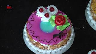 Beautiful Simple Cake Decorating Ideas    Color Full Cakes Mak…