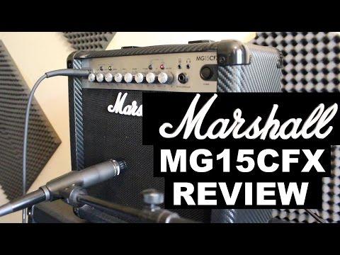 Marshall MG15CFX Amp Review