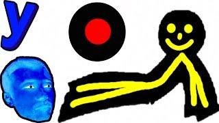 ЭКСТРЕМАЛЬНЫЙ ПАРКУР! Черный ЧЕЛОВЕЧЕК избегает СМЕРТЕЛЬНЫХ ЛОВУШЕК #234 Мультик ИГРА для детей