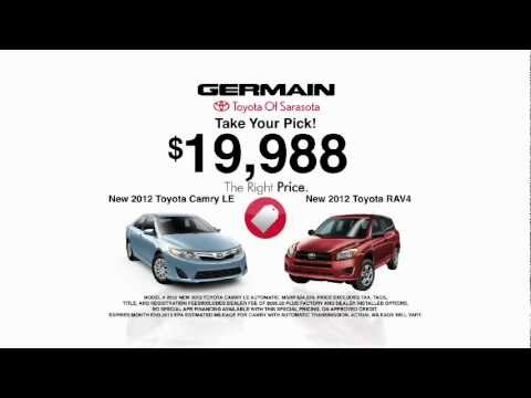 Germain Toyota Of Sarasota   Shop With Confidence