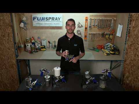 Fuji Spray guns are compatible with the 3M PPS system