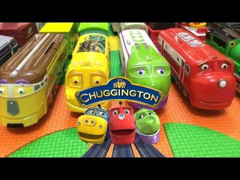 【pociągi zabawki】14 Stacyjkowo z pieśni angielskie dzieci (01041 z PL)