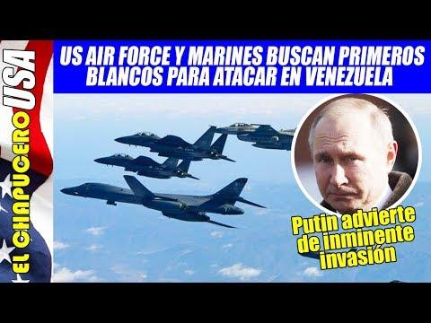 Aviones americanos sobrevuelan costas venezolanas. Rusia acusa inminente invasión
