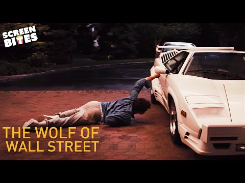 The Wolf Of Wall Street | Car Scene | Leonardo DiCaprio