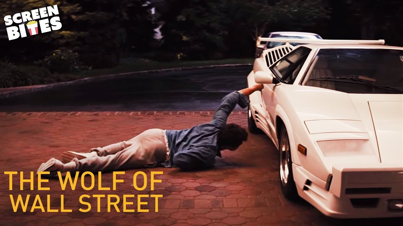 The wolf of wall street car scene leonardo dicaprio for Wall street motor cars