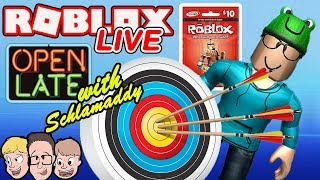 NEW Archery Simulator and More Live! Weekly Robux Giveaway | Roblox Charity Livestream