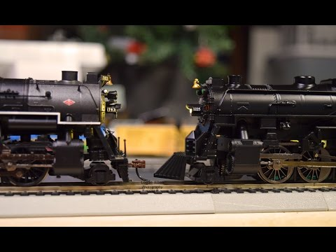 Model Railroad Toy Train Track Plans -Lionel HO Vs. Bachmann Berkshire