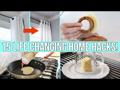 15-*new*-life-changing-home-hacks-&-gadgets!