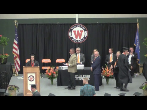 West De Pere High School Graduation 2018