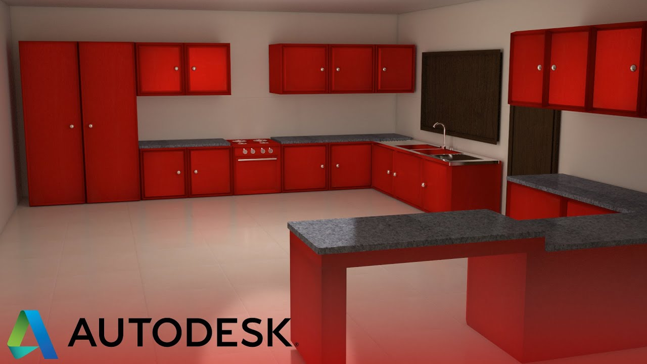 Modelling kitchen tutorial 3ds max 5 youtube - Kitchen design tutorial ...