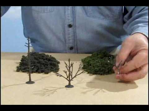 ReadyGrass Tree Kit – Model Scenery | Woodland Scenics