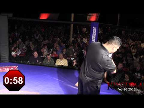 Patrick Howard vs William Urquhart KP5 Feb 16 2013