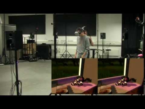 Investigating spatial illusions in virtual reality environments
