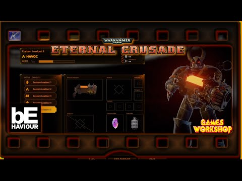 """40K ~ Eternal Crusade E11 """"Loadouts Eldar Preview and Roadtest New Chaos Weapons"""""""