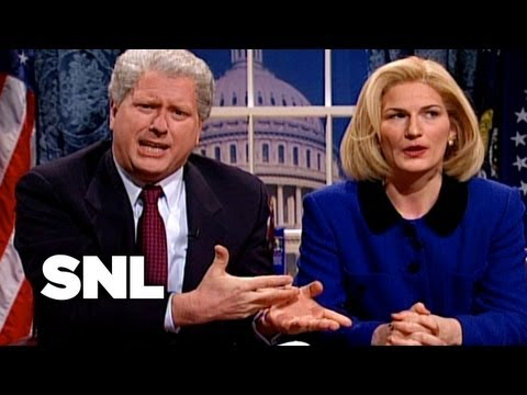 Cold Opening Bill And Hillary Clinton Address The Nation