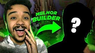 BUILD BATTLE com o MELHOR BUILDER do BRASIL | DINIZ