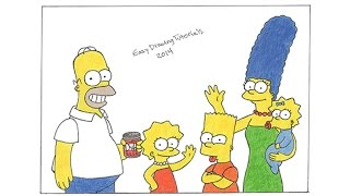 Special Simpsons Drawing! Thanks for 30,000 subs :)