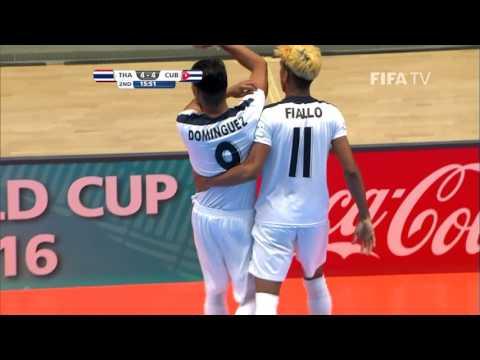 Match 15: Thailand v Cuba - FIFA Futsal World Cup 2016