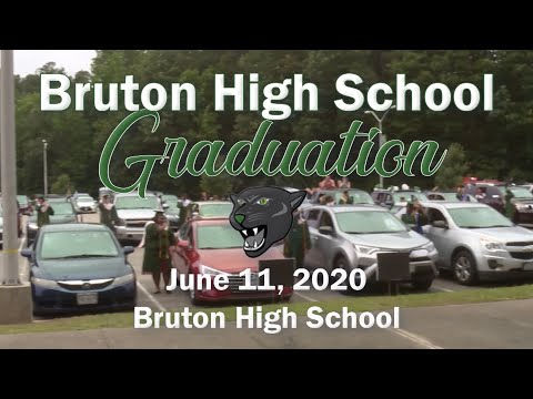 Bruton High School Graduation 2020 - Final Production
