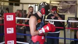 RingTV Sparring: Sergio Mora with Angel Bojado