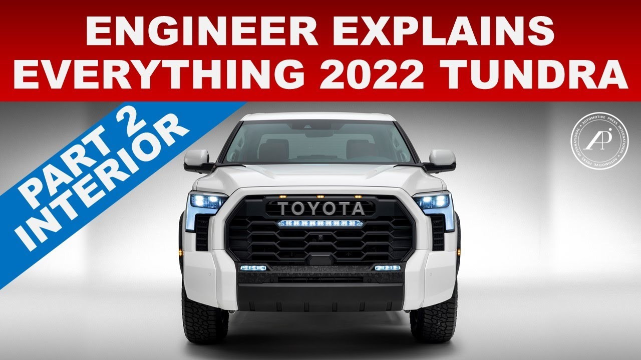 ENGINEER EXPLAINS EVERYTHING 2022 TOYOTA TUNDRA - PART 2 MORE EXTERIOR & INTERIOR AUDIT & INSPECTION