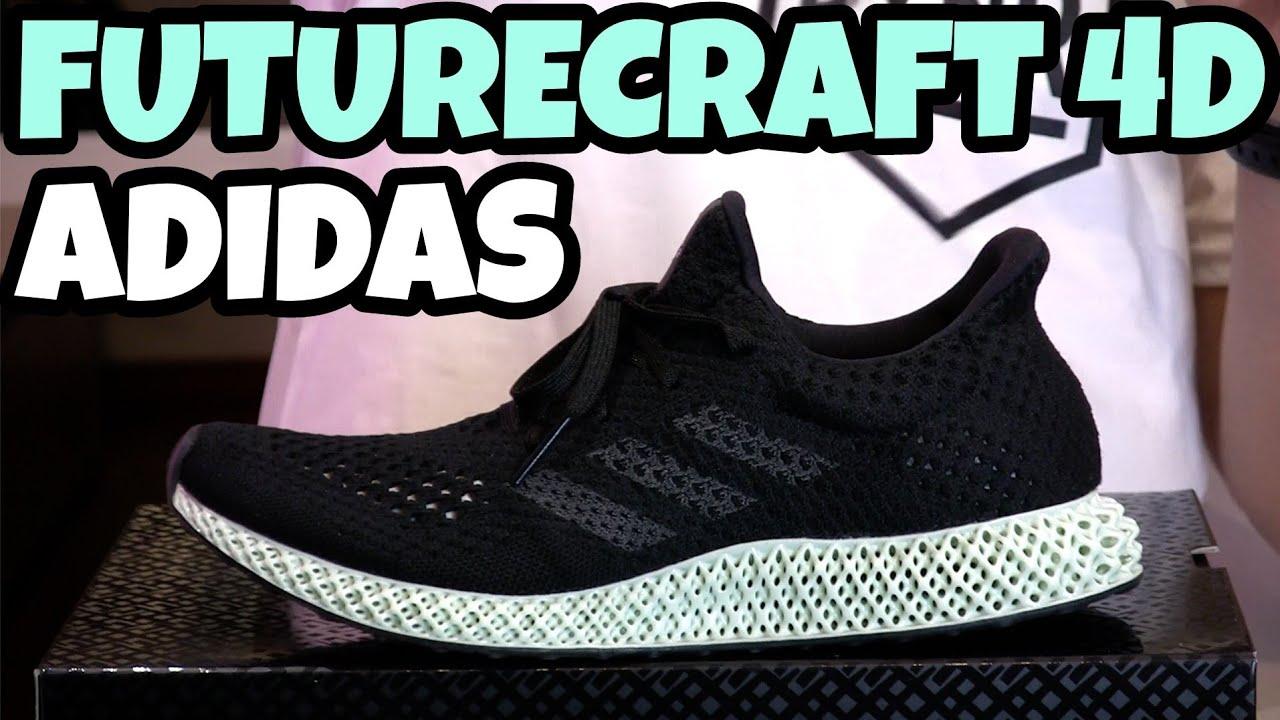 3930e4cbd88 ADIDAS FUTURECRAFT 4D - La sneaker del futuro  Unboxing Recensione   Review  ITA