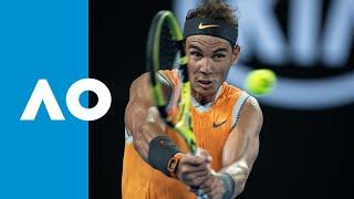 Stefanos Tsitsipas v Rafael Nadal match highlights (SF) | Australian Open 2019
