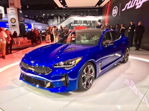 2018 Kia Stinger GT – Redline: First Look – 2017 NAIAS