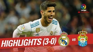 Resumen de Real Madrid vs UD Las Palmas (3-0)