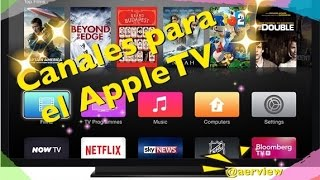 Canales para el AppleTv