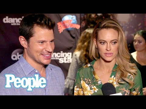 DWTS: Nick & Vanessa Lachey On Working With Maks & Peta, Joining The Season | People NOW | People