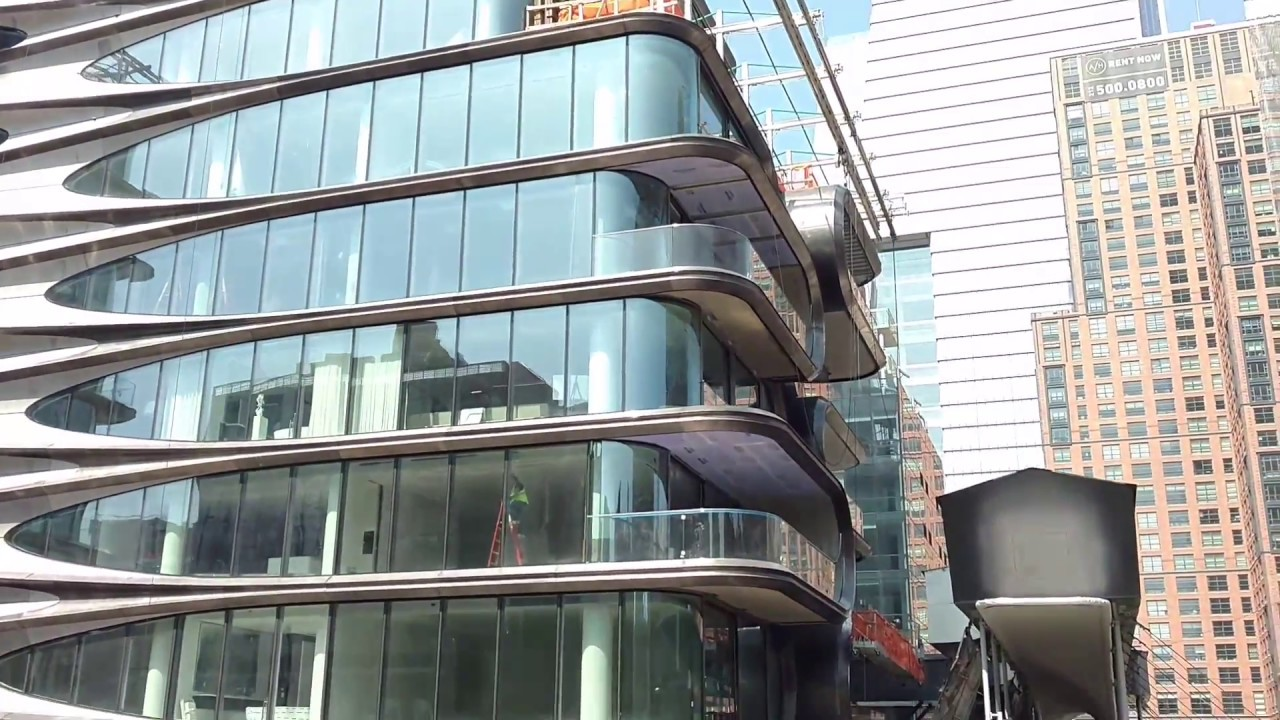Zaha Hadid Building Nyc Youtube