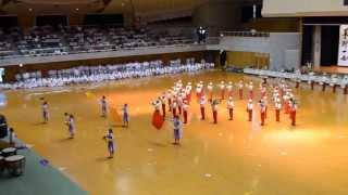 Nishihara High School Marching Band @ IOGKF Budosai 2012 - Part 1
