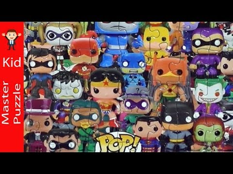 Funko Pop Heroes Jigsaw Puzzle Youtube