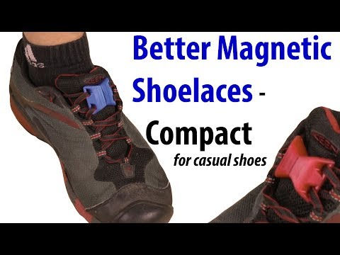 DIY: Better Magnetic Shoelaces – Compact/Casual shoe version