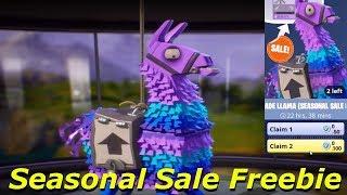 2 Lamas de mise à niveau (vente saisonnière Freebie) Fortnite sauver le monde