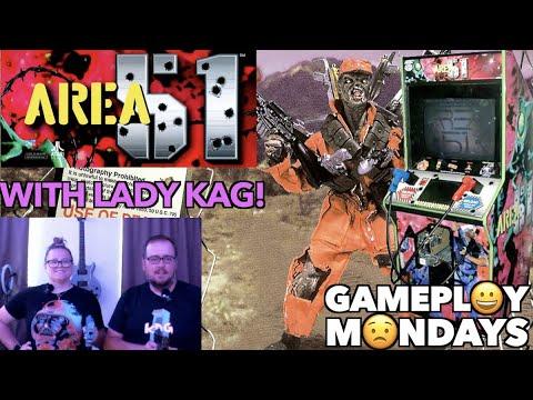 Area 51 Arcade Play Through W/Lady KAG!   Gameplay Mondays! from Killer Arcade Games