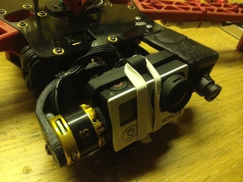 My TBS discovery setup with my 3D printed gimbal