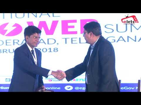 Elets National Power Summit, 2018 - Felicitation of Leaders of Energy Sector