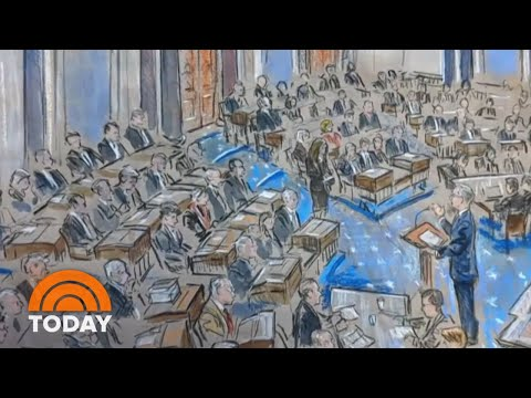Behind The Scenes Of Trump's Impeachment Trial | TODAY