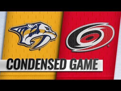 01/13/19 Condensed Game: Predators @ Hurricanes