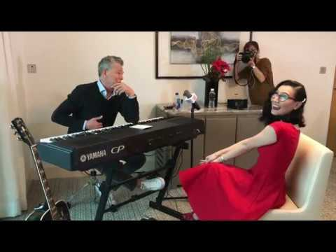 Playing 'Better Off Without You' for David Foster